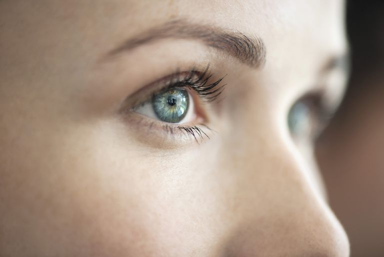 Close-up of womans eye