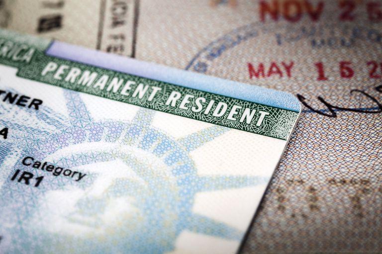 Tarjeta de residencia permanente, green card