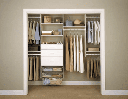 """Deluxe Starter 96""""W Closet System"""
