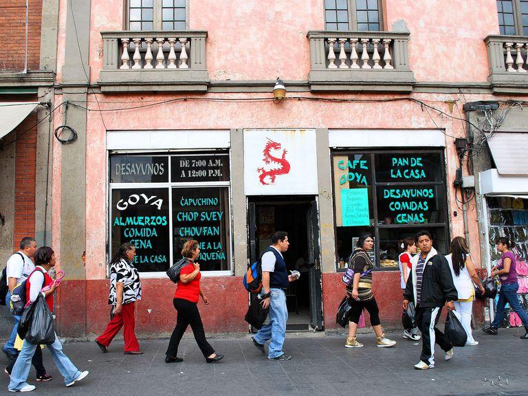 Cafe de chino en la Cd. de Mexico