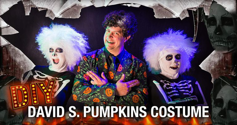 David S. Pumpkins costume