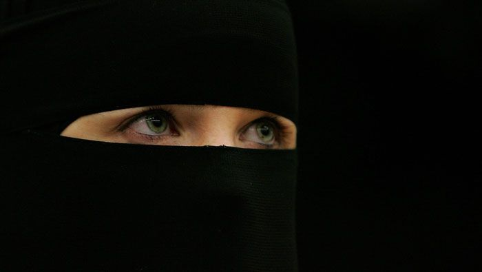 women burqa france
