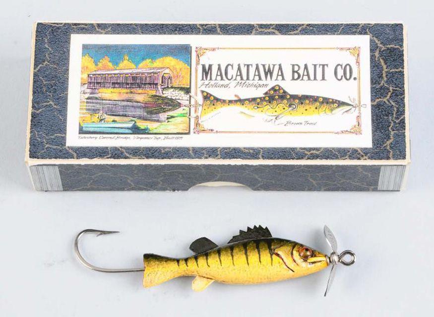 Macatawa Bait Co. Fishing Lure with Box