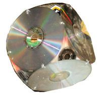 3-D CD Sun Catcher Craft