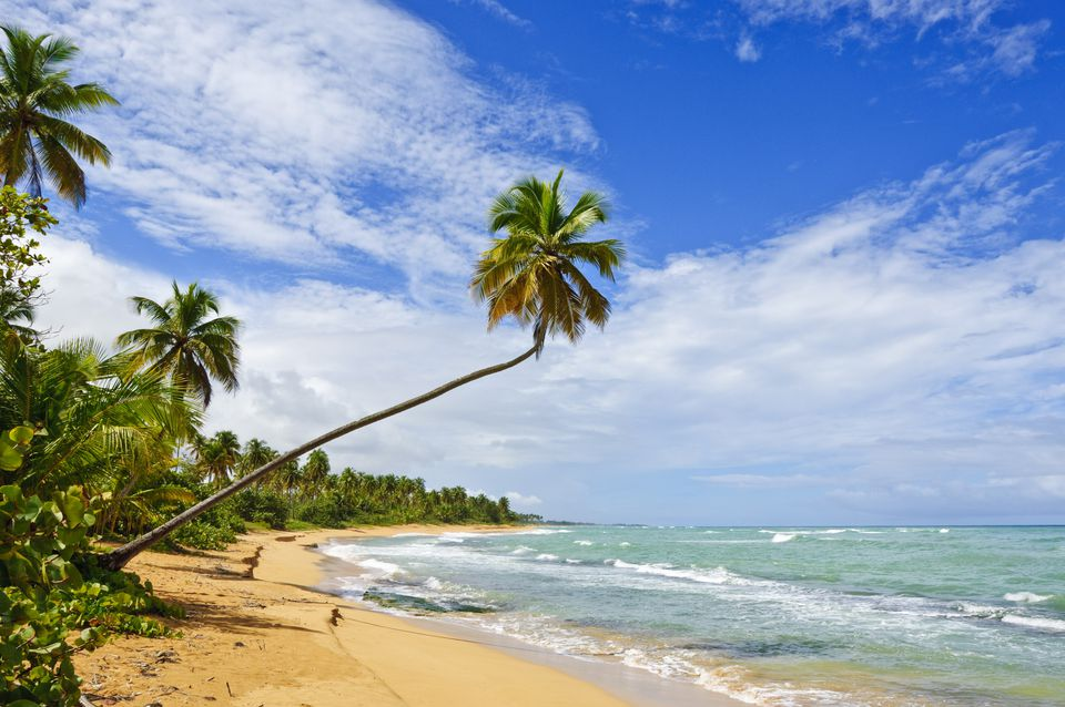 Tres Palmitas Beach, Puerto Rico, West Indies, Caribbean, Central America