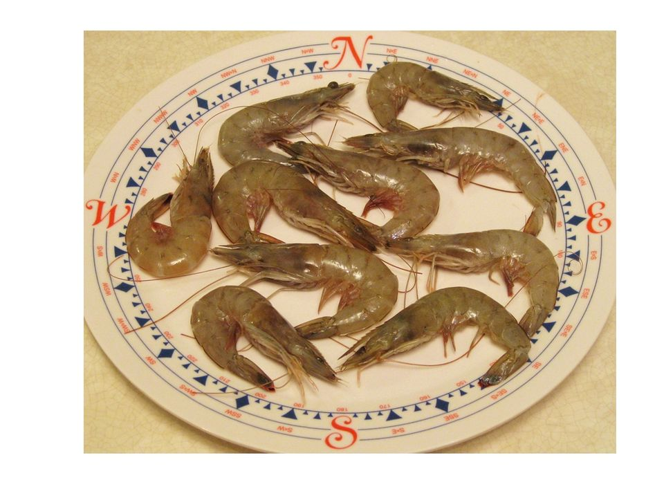 Fresh Head-On Shrimp