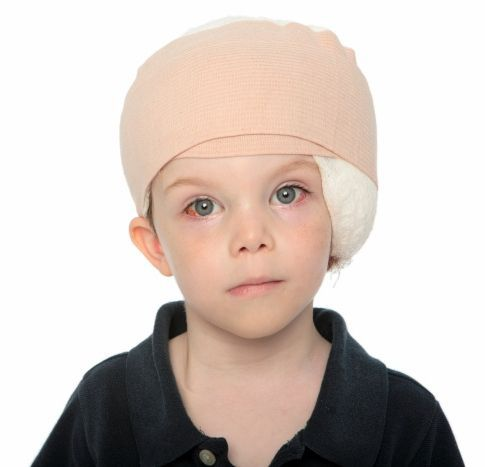 Bandage After Pediatric Surgery