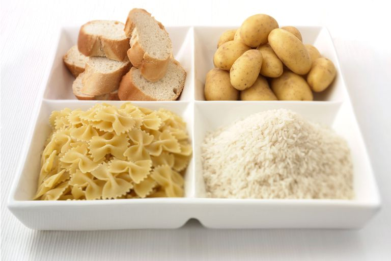 5 Diet Myths: Eating carbs will make you gain weight.