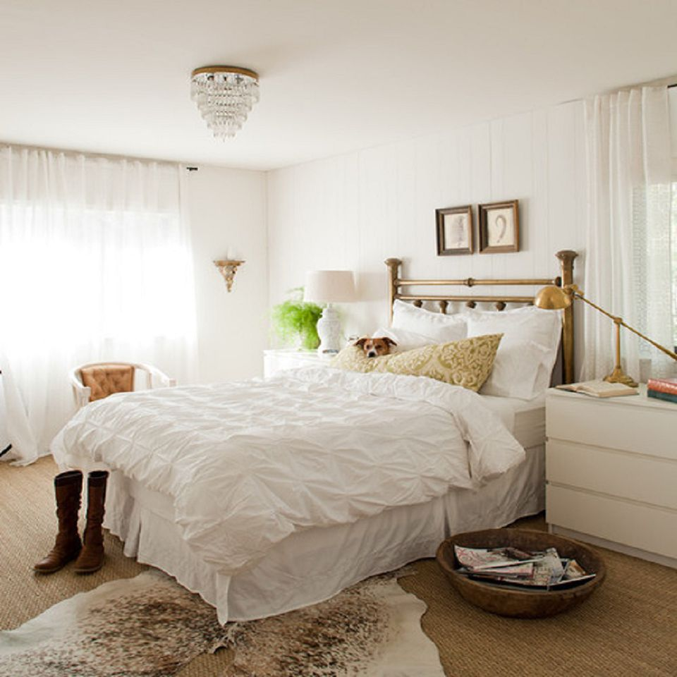Interior Bedrooms With White Walls decorating bedrooms with white walls photo courtesy of lauren liess