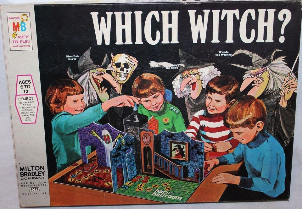 Which Witch? Board Game