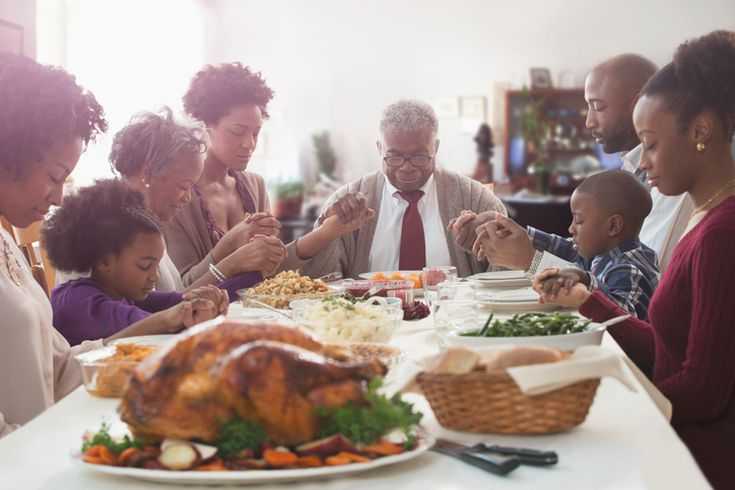 Simple Sample Of A Thanksgiving Prayer Families Can Say Before Dinner
