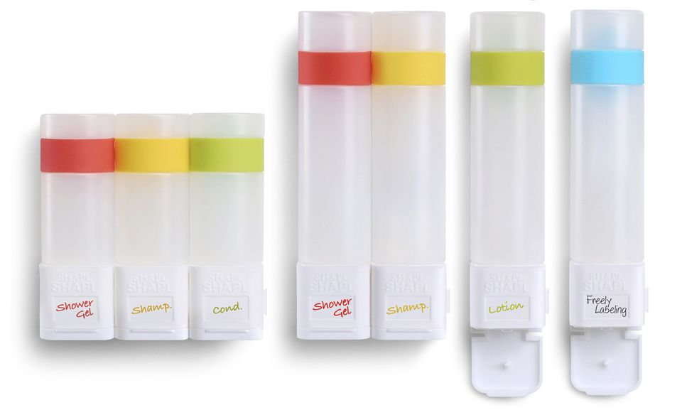 SHAPL Smart Shower Containers