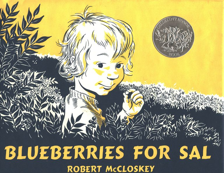 Blueberries for Sal, Picture Book Cover