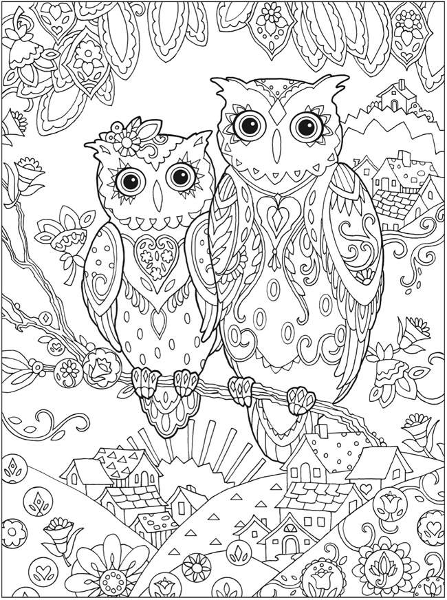Adult Coloring Free Pages
