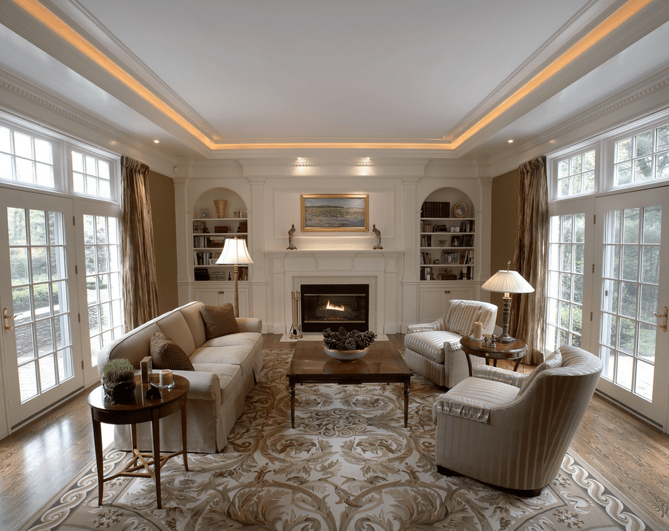 15 beautiful living room lighting ideas mozeypictures Gallery