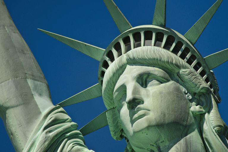 La Estatua de la Libertad, símbolo para los refugiados