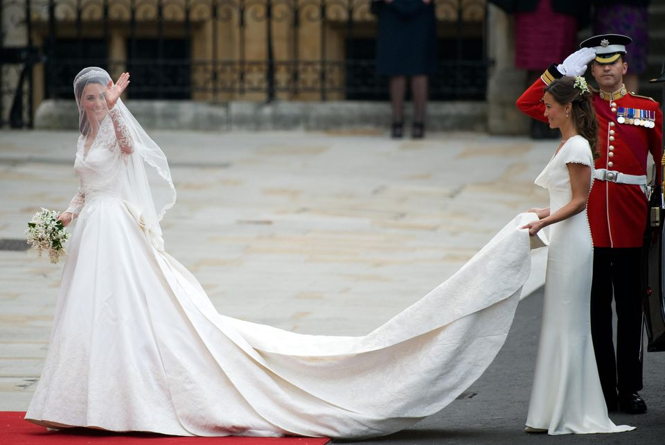 Kate Middletons Wedding Gown