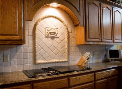 Kitchen Backsplash Medallions 30 amazing design ideas for a kitchen backsplash