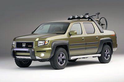 Custom Honda Ridgeline Pickup Truck
