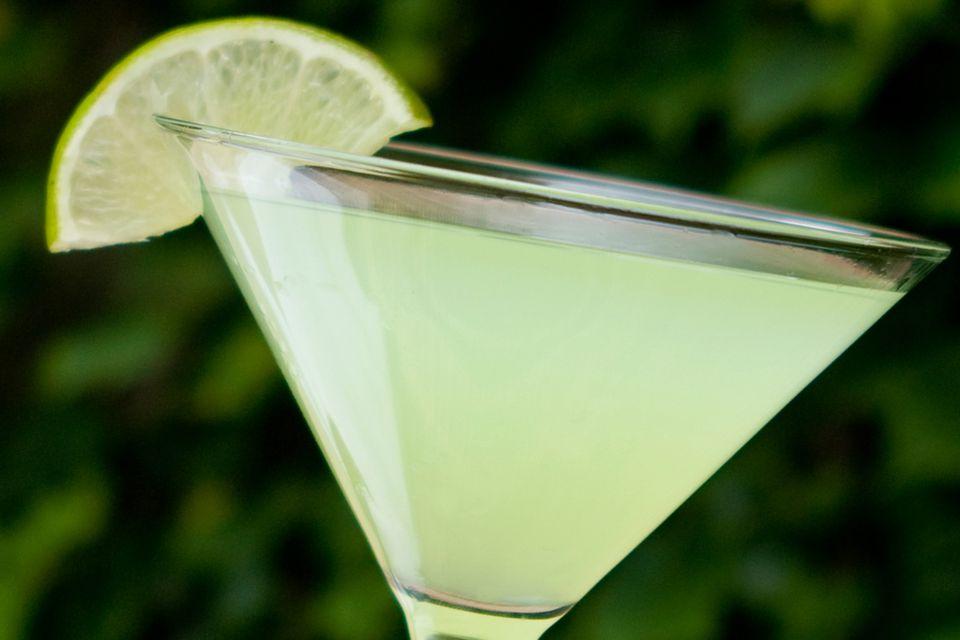 Classic Rum Daiquiri Cocktail