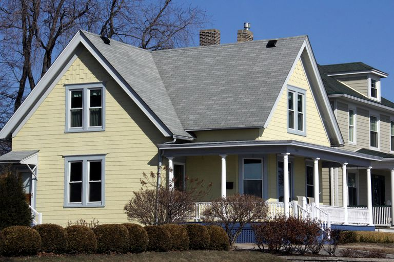 House Paint Colors Brown Roof