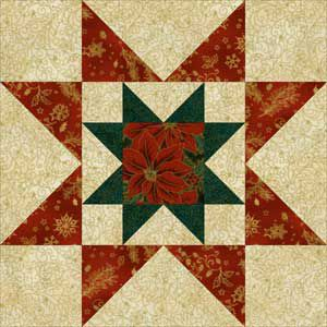 Rising Star A 12 Quot Quilt Block Pattern