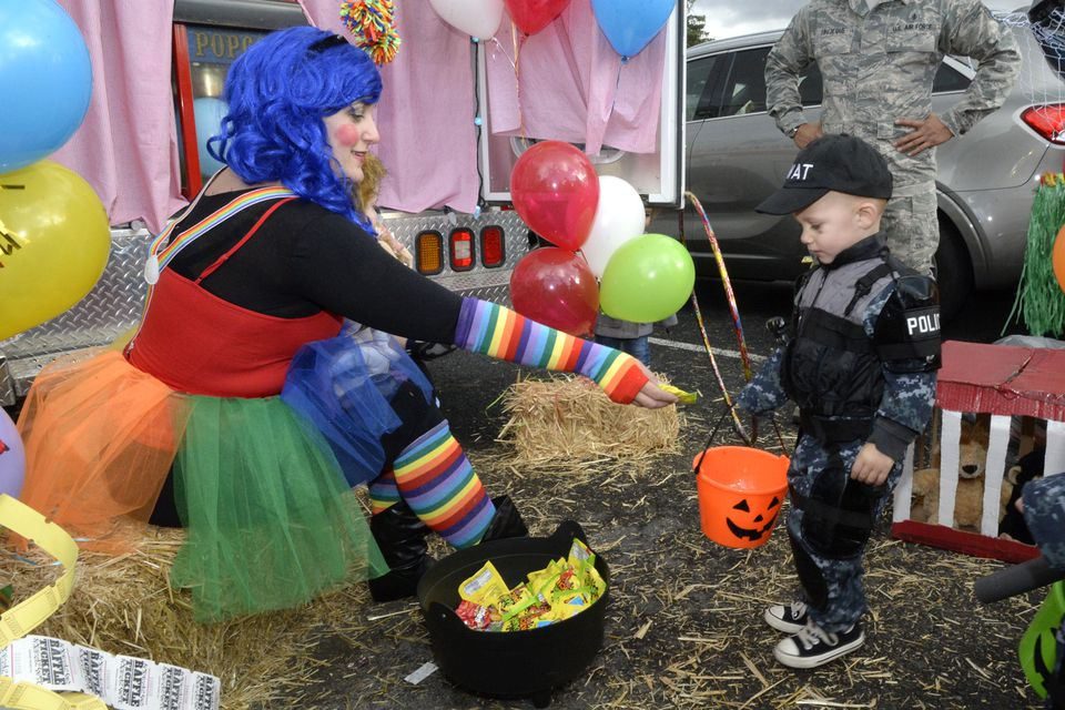 Families enjoy Haunting on the Hill, Hill Air Force Base HILL AIR FORCE BASE