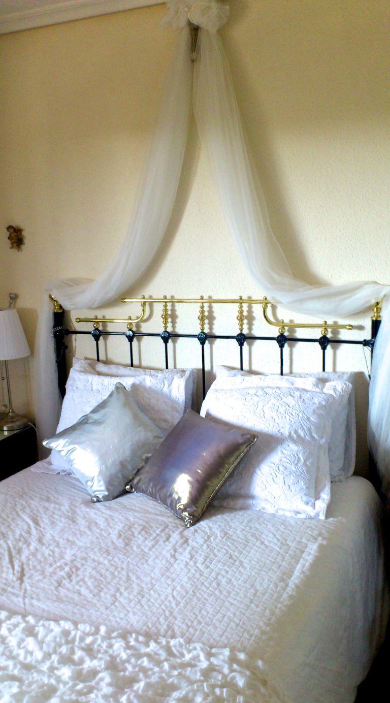 Cabeceros de cama c mo hacer un dosel - Como fabricar un cabecero de cama ...