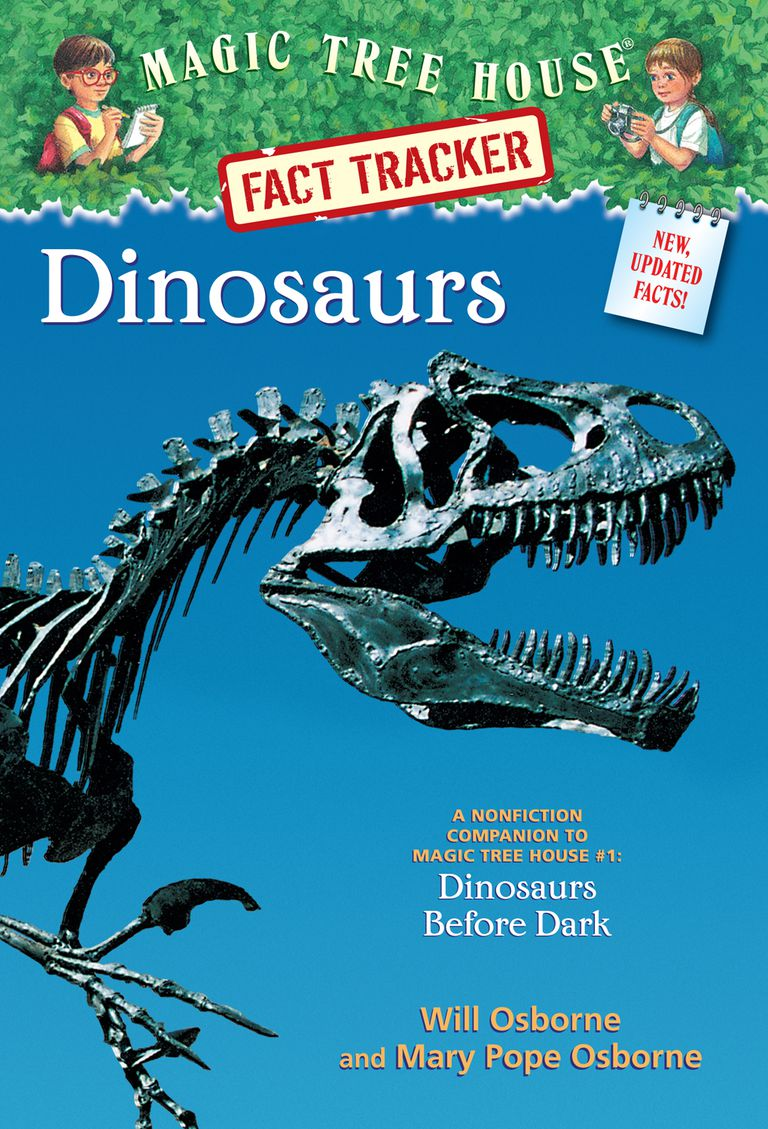 Magic Tree House Dinosaurs Fact Tracker - Book Cover