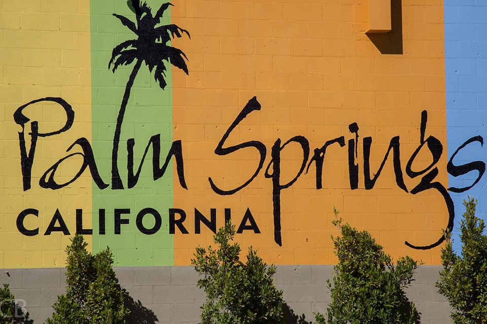 Colorful Palm Springs