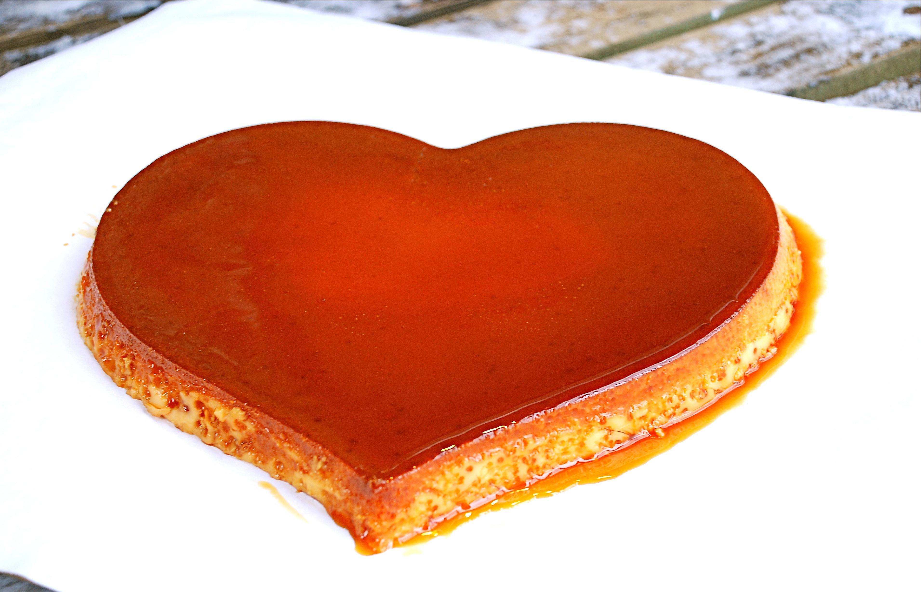 South American Caramel Custard Flan Recipe