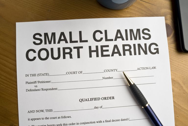 The Small Claims Court Process