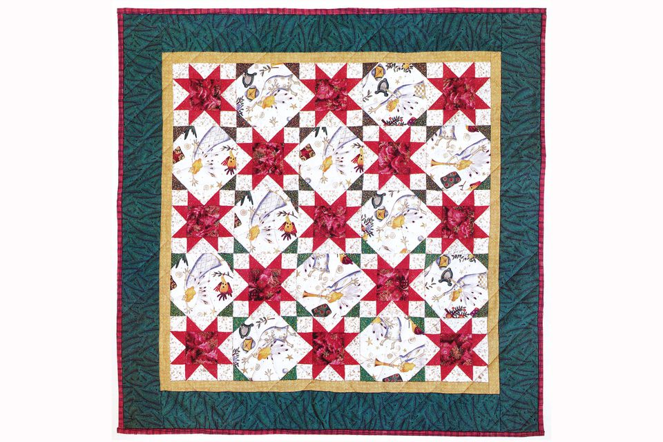 Sew A Joyous Celebration An Easy Star Quilt Pattern