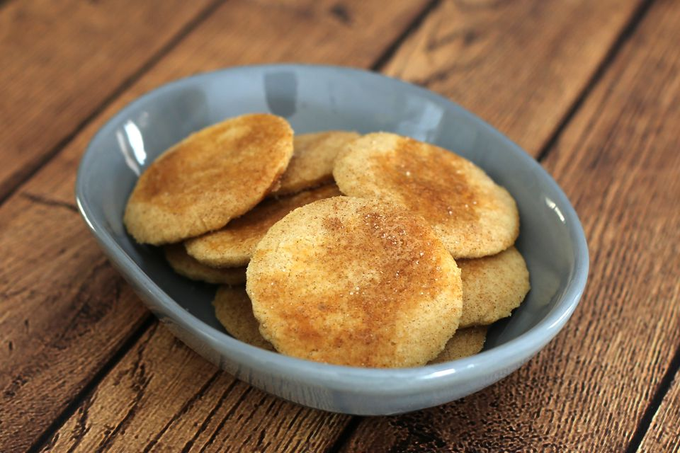 Sand Tart Cookies with Cinnamon