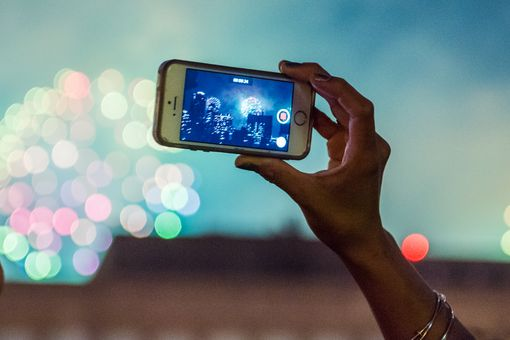 Record a video on your iPhone or iPad, then edit it with Clips