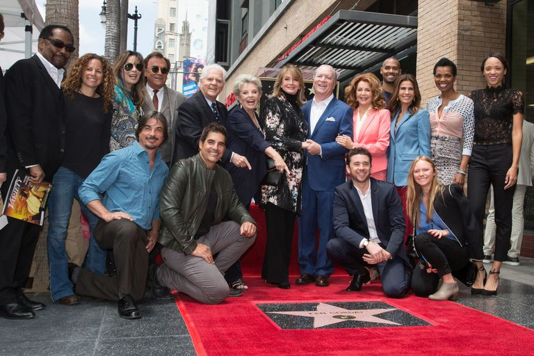 Television Producer Ken Corday Honored With Star On The Hollywood Walk Of Fame