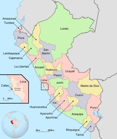 regions of Peru
