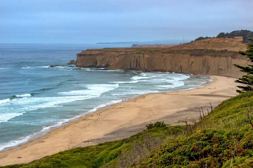 Devils Slide (Gray Whale Cove) Nude Beach: A San
