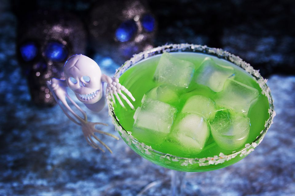 Skeletons in Your Closet Halloween Cocktail
