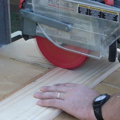 Cutting with a Radial-Arm Saw