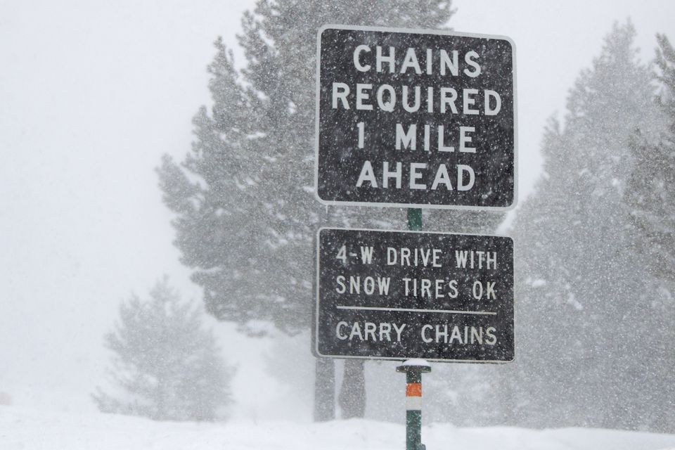Snow Chains Required?
