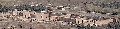 Palace of Nebuchadnezzar ruins