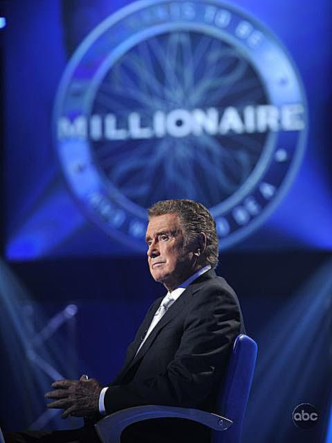 Regis Philbin Who Wants to Be a Millionaire Lifeline