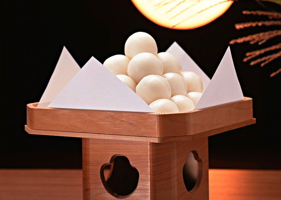 Tsukimi Japanese Autumn Harvest Moon Festival And Food