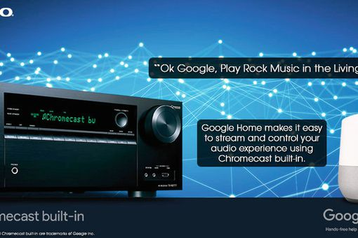 Google Home Works With Onkyo Home Theater Receivers