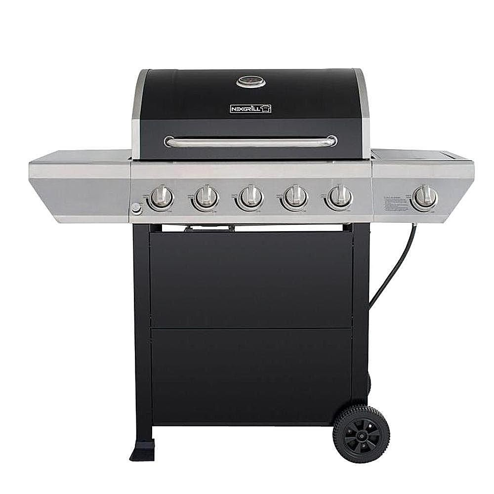 Master forge 5 burner island grill reviews - Nexgrill 5 Burner Propane Gas Grill With Side Burner Model 720 0888 Bbq Grill Reviews