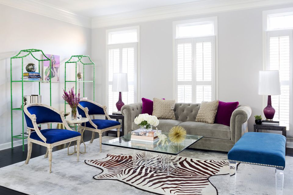 36 Living Room Decorating Ideas That Smells Like Spring: 35 Colorful Interior Design Ideas