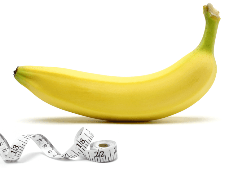 Banana and a temperature