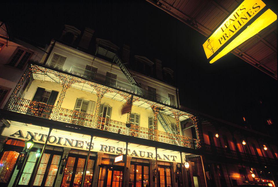 Antoines Restaurant New Orleans Louisiana USA