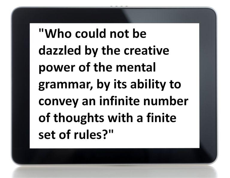 mental grammar